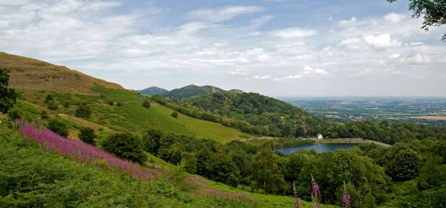 Malvern Hills image walk, close to Self Catering Malvern Holywell